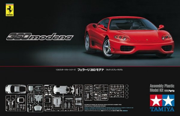 Tamiya 24298 Ferrari 360 Modena (1:24)