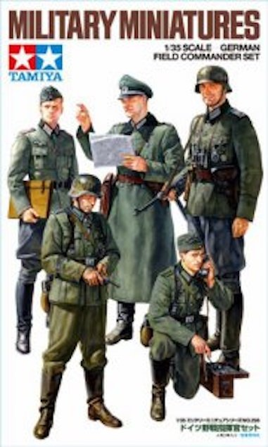 Tamiya 35298 German Field Commander Set (1:35)