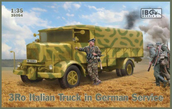 IBG 35054 3Ro Italian Truck in German Service 1/35
