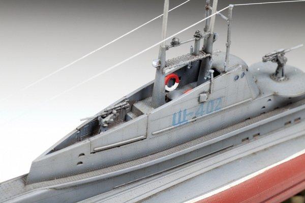 Zvezda 9041 Soviet WWII Submarine SHCHUKA (SHCH) class 1/144