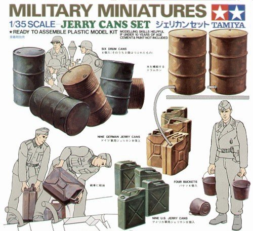 Tamiya 35026 Jerry Can Set (1:35)