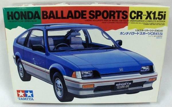 Tamiya 24040 Honda Ballade Sports CR-X 1.5i (1:24)