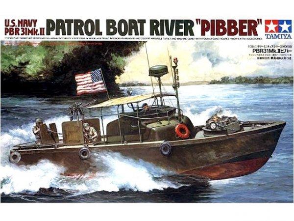 Tamiya 35150 U.S. Navy PBR31 MK. II Pibber (1:35)