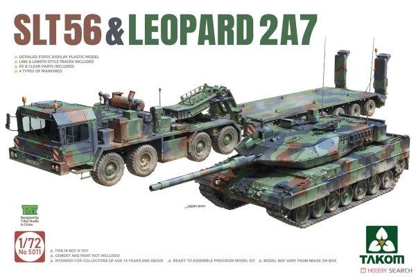 Takom 5011 SLT56 & Leopard 2 A7 1/72