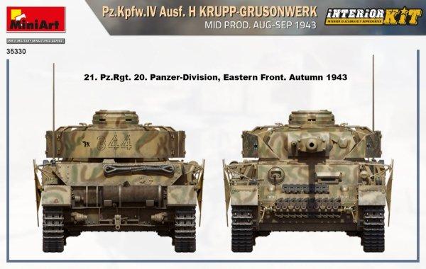 MiniArt 35330 Pz.Kpfw. IV Ausf. H Krupp-Grusonwerk 1/35