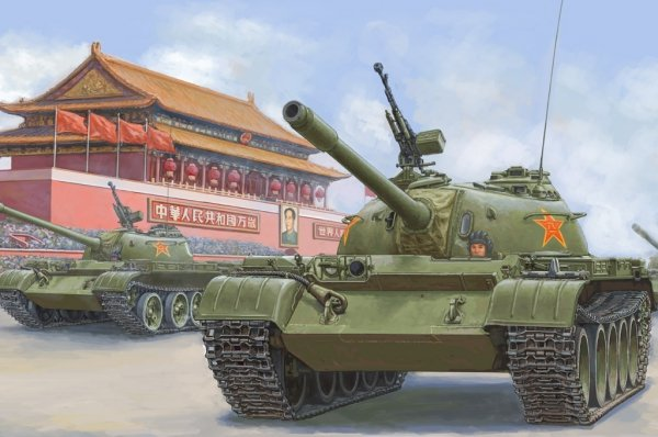 Hobby Boss 84539 PLA 59 Medium Tank-early 1/35