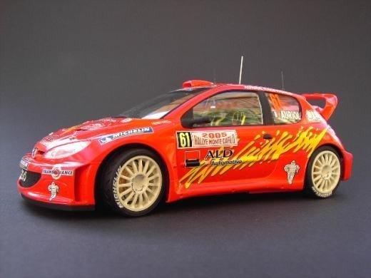 Tamiya 24283 Bozian Racing Peugeot 206 WRC Monte Carlo '05 (1:24)