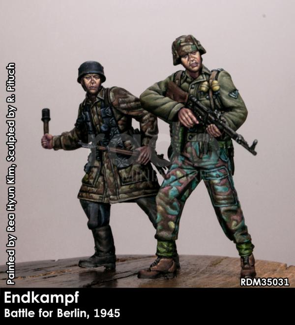 RADO Miniatures RDM35031 Endkampf, Berlin 1945 1/35