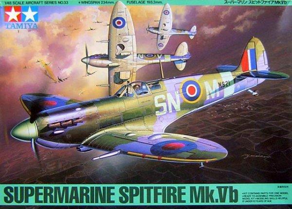 Tamiya 61033 Supermarine Spitfire Mk.Vb (1:48)