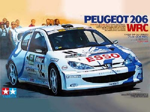 Tamiya 24221 Peugeot 206 WRC (1:24)