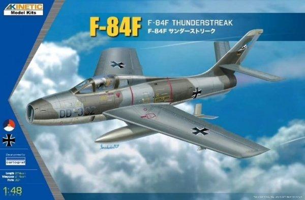 Kinetic K48068 F-84F Thunderstreak 1/48