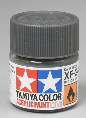 Tamiya XF24 Dark Grey (81724) Acrylic paint 10ml