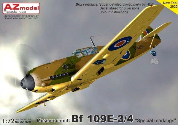 "AZ Model AZ7689 Bf 109E-3 ""Special marking"" 1/72"