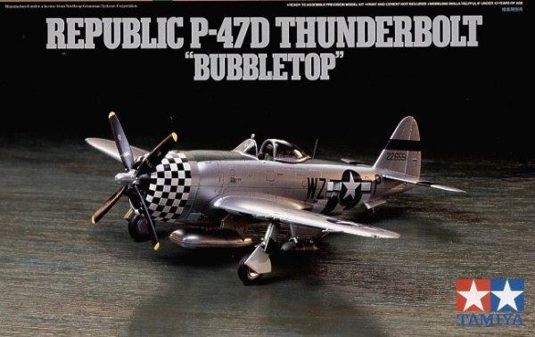 Tamiya 60770 P-47D Thunderbolt - Bubbletop 1/72
