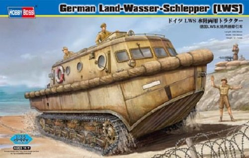 Hobby Boss 82430 German LWS amphibious tractor Early production (1:35)