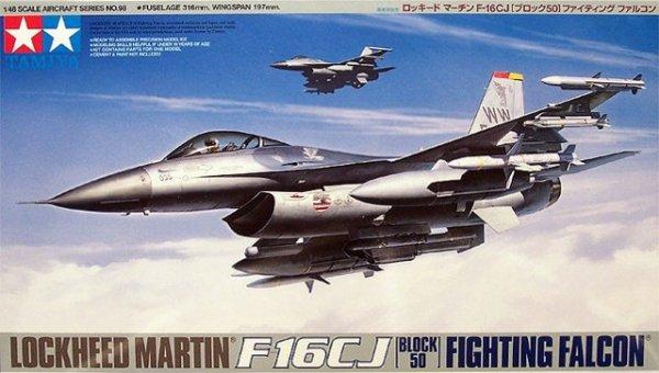 Tamiya 61098 F-16CJ Fighting Falcon (1:48)