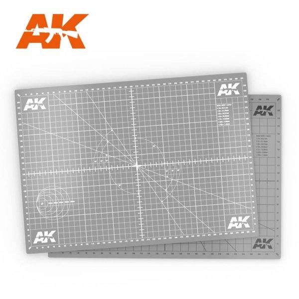 AK Interactive AK 8209-A4 SCALE CUTTING MAT A4