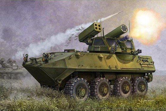 Trumpeter 00393 USMC LAV-AD Light Armored Vehicle-Air Defense (1:35)