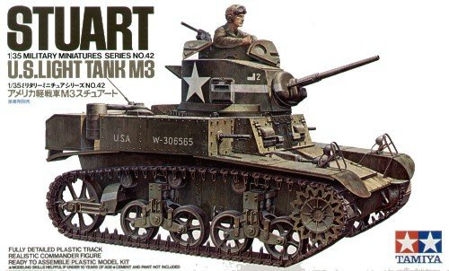 Tamiya 35042 U.S. M3 Stuart (1:35)