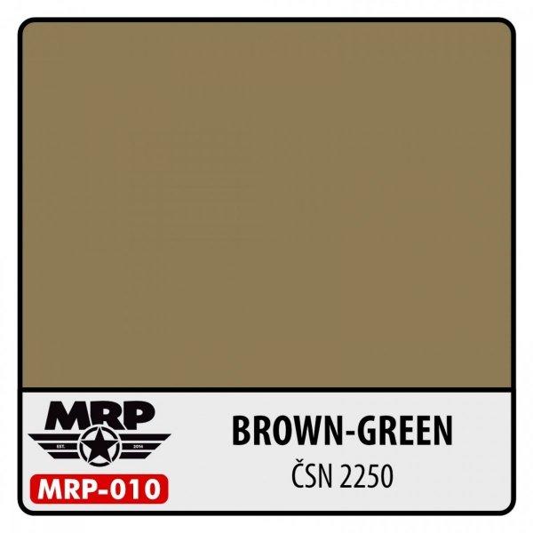 MR. Paint MRP-010 Brown Green ČSN 2250 30ml