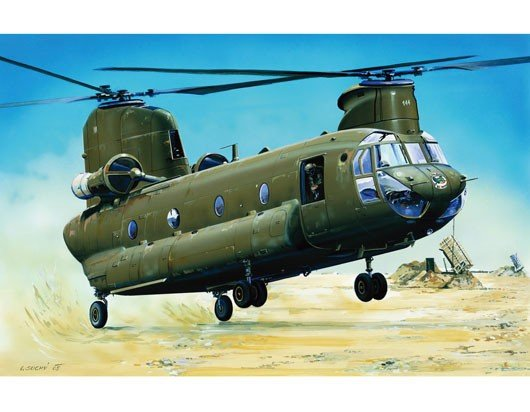 """Trumpeter 01622 CH-47D """"CHINOOK"""" (1:72)"""