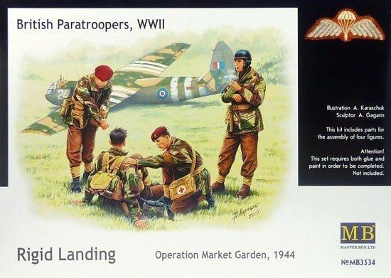 Master Box 3534 British paratroopers, 1944. Kit 2 (1:35)