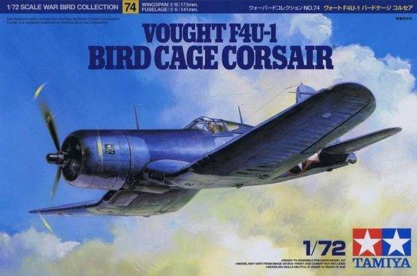 Tamiya 60774 Vought F4U-1 Bird Cage Corsair 1/72