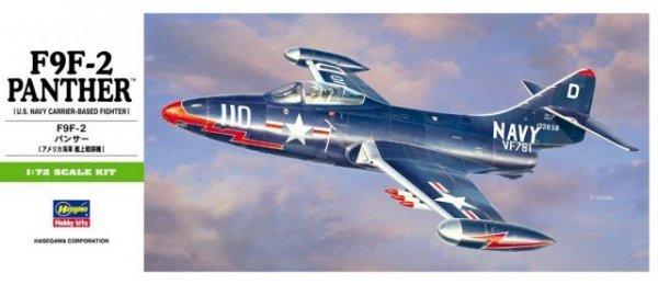 Hasegawa B12 F9F-2 Panther (1:72)
