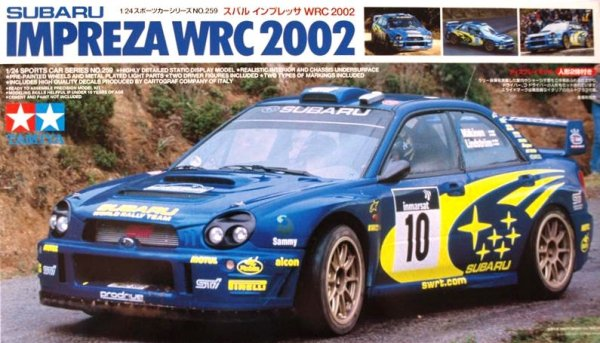 Tamiya 24259 Subaru Impreza WRC 2002 (1:24)