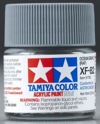 Tamiya XF82 Ocean Gray 2 RAF (81782) Acrylic paint 10ml