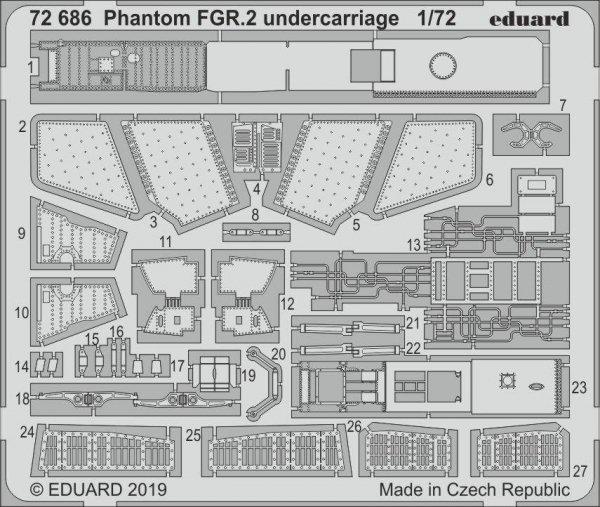 Eduard BIG72148 Phantom FGR.2 1/72 AIRFIX