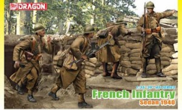 Dragon 6738 French Infantry Sedan 1940 (1:35)