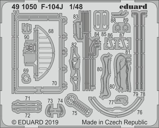 Eduard 491050 F-104J 1/48 KINETIC MODEL