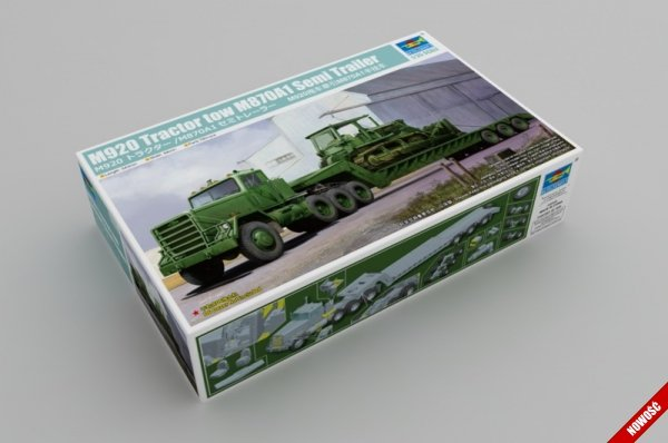 Trumpeter 01078 M920 Tractor tow with M870A1 semitrailer 1/35
