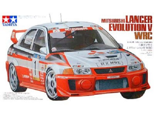Tamiya 24203 Mitsubishi Lancer Evolution V WRC (1:24)