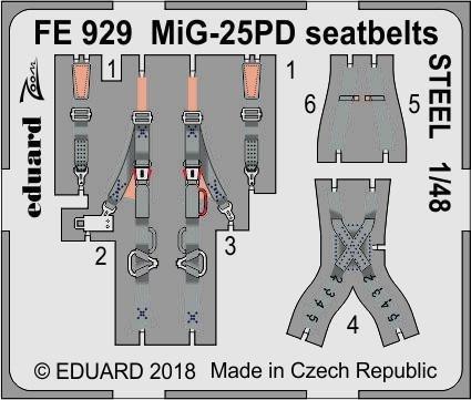 Eduard BIG49206 MiG-25PD 1/48 ICM