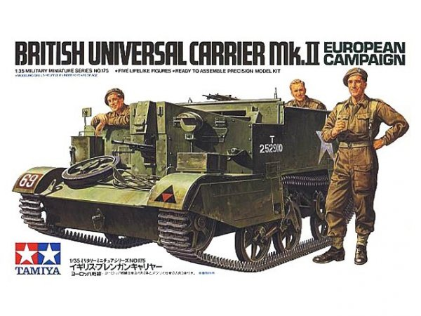 Tamiya 35175 Universal Carrier Mk.II European Campaign (1:35)