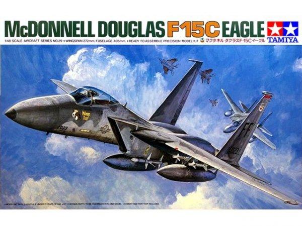 Tamiya 61029 McDonnell Douglas F-15C Eagle (1:48)