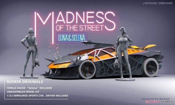 Suyata MS-001 Madness of the Street Luna & Selena 1/32