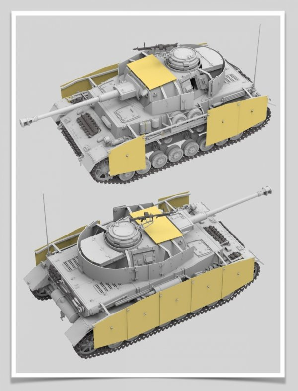 Rye Field Model 5046 Panzerkampfwagen IV Ausf.H Sd.Kfz.161/1 EARLY RPODUCTION 1/35