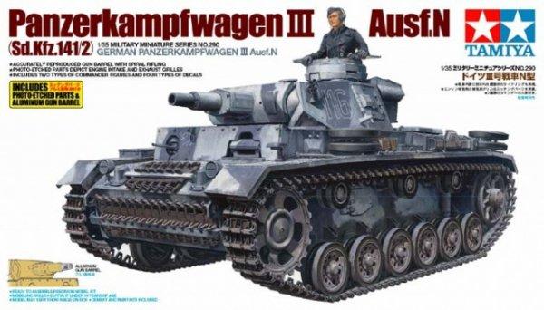 Tamiya 35290 Panzerkampfwagen III Ausf.N (1:35)