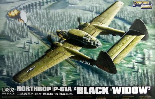 Great Wall Hobby L4802 Northrop P-61A Black Widow 1/48
