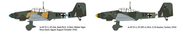 Hobby 2000 48003 Junkers Ju-87 D-3 North Africa 1942-43 1/48