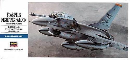 Hasegawa D14 F-16B Plus F.Falcon (1:72)