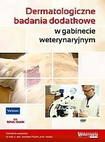 Dermatologiczne badania dodatkowe w gabinecie weterynaryjnym płyta DVD