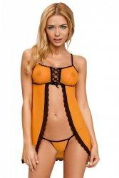 CANDY CHEMISE pomarańczowa koszulka nocna
