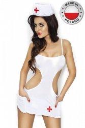 AKKIE SET biały kostium