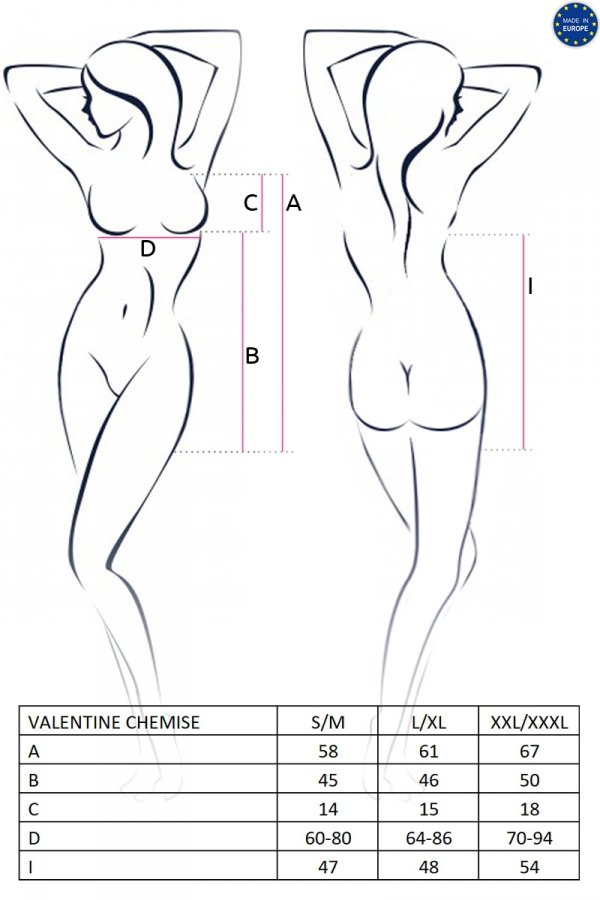 VALENTINE CHEMISE