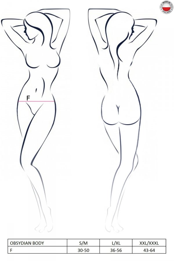 OBSYDIAN BODY czarne body