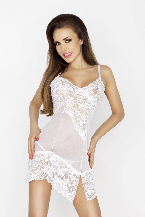 AMARA CHEMISE biała koszulka nocna